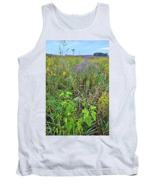Glacial Park Native Prairie Tank Top