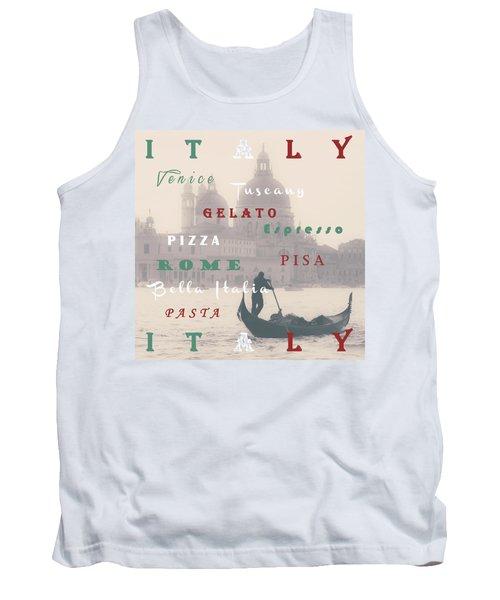 Italy Tank Top