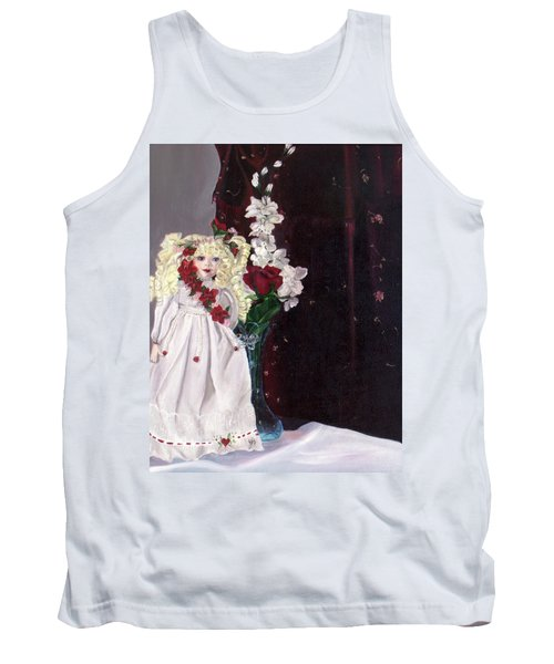 Tank Top featuring the painting Jenessa by Jane Autry