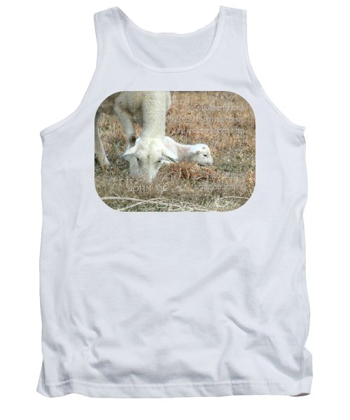 L Is For Lamb Tank Top
