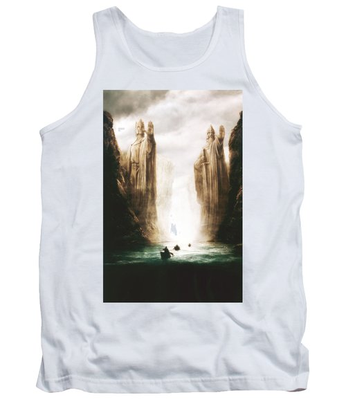 Lord Of The Rings The Fellowship Of The Ring 2001  Tank Top