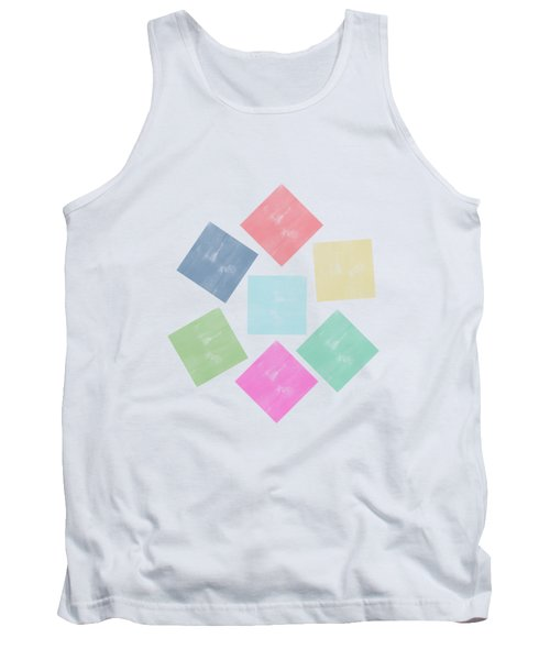 Lovely Geometric Background Tank Top