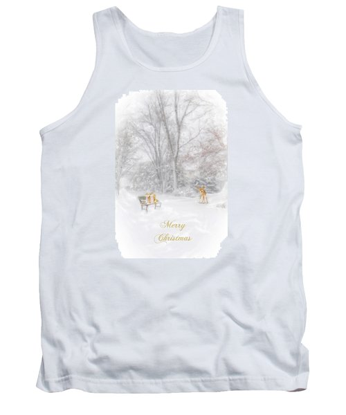 Merry Christmas Tank Top by Mary Timman
