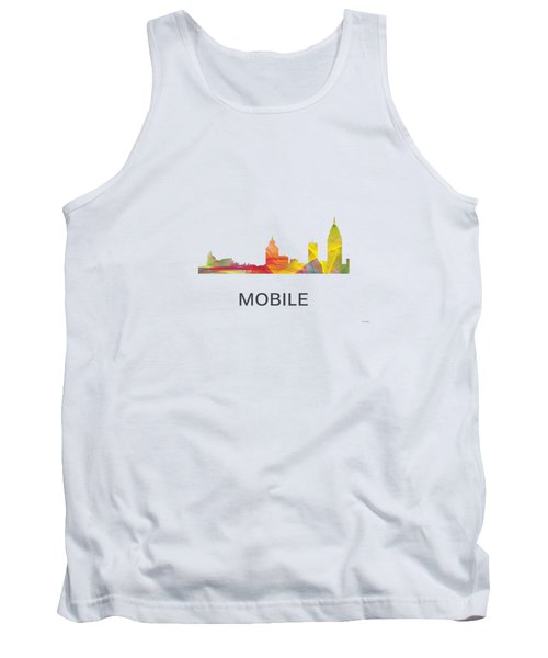 Mobile Alabama Skyline Tank Top