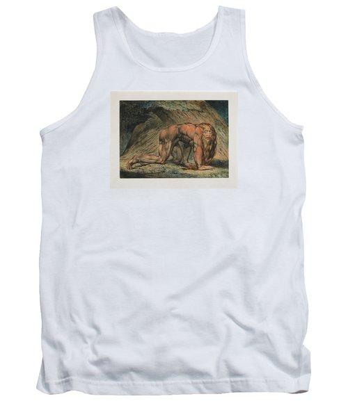 Nebuchadnezzar Tank Top by William Blake
