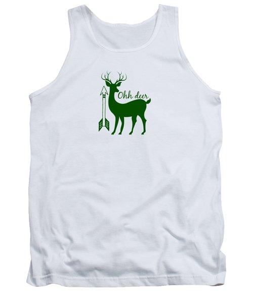 Ohh Deer Tank Top by Chastity Hoff