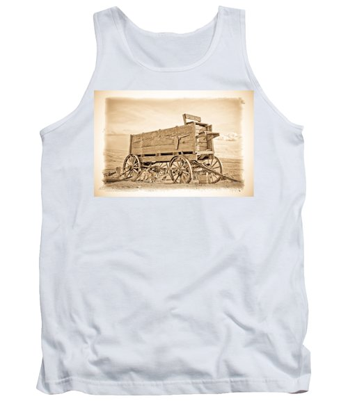 Old West Wagon  Tank Top