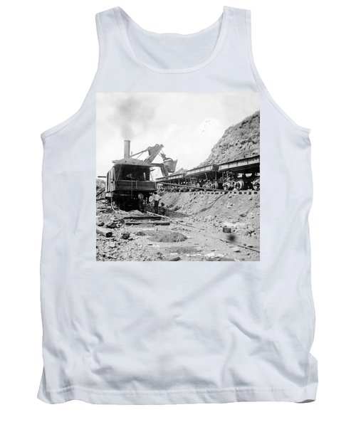 Panama Canal - Construction - C 1910 Tank Top by International  Images