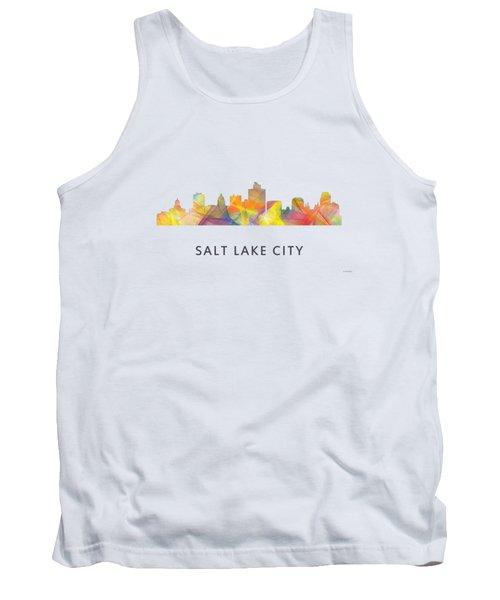 Salt Lake City Utah Skyline Tank Top