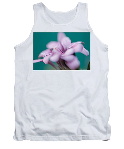 Tank Top featuring the photograph Soft Pink by Michaela Preston