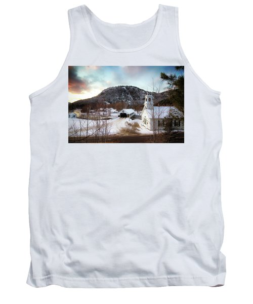 Tank Top featuring the photograph Stark New Hampshire by Robert Clifford
