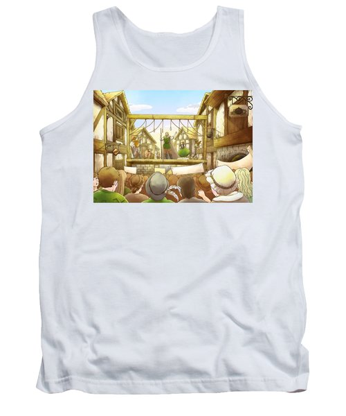 The Army Of God Captures London Tank Top