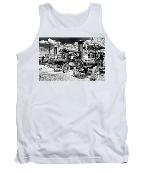Tank Top featuring the photograph The Old Way Of Farming by Paul W Faust - Impressions of Light