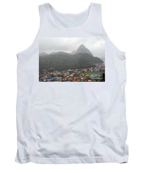 Tank Top featuring the photograph The Pilons by Gary Wonning