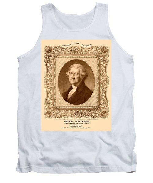 Thomas Jefferson Tank Top