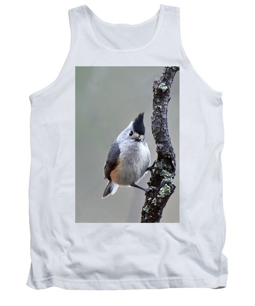 Tufted Titmouse Tank Top