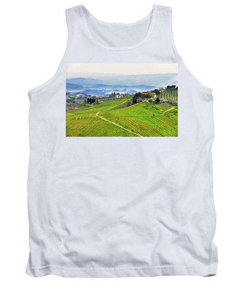 Tuscany Landscape Tank Top