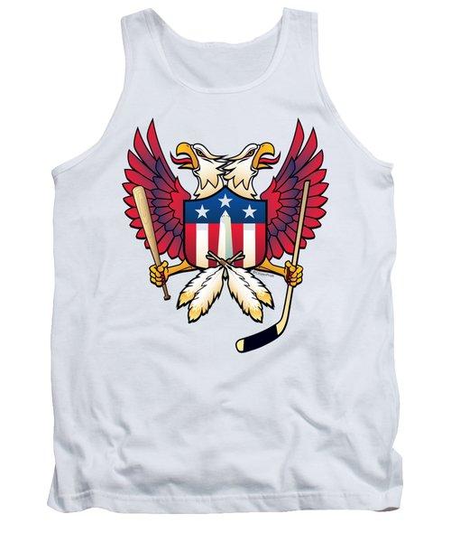 Washington Dc Double Eagle Sports Fan Crest Tank Top