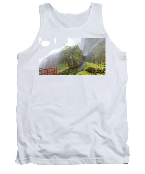 Tank Top featuring the photograph Water Path by Raymond Earley