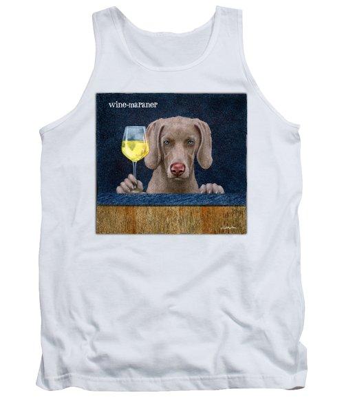 Wine-maraner Tank Top