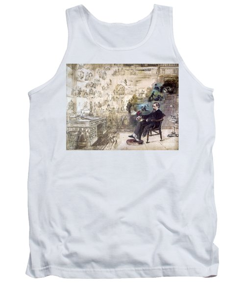 Charles Dickens (1812-1870) Tank Top by Granger