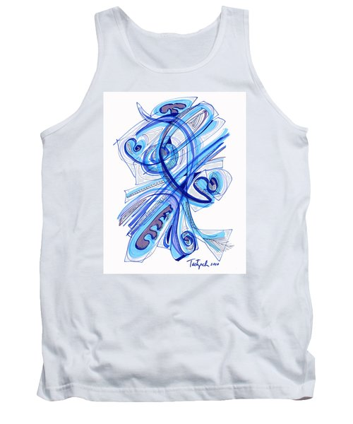 2010 Drawing Four Tank Top