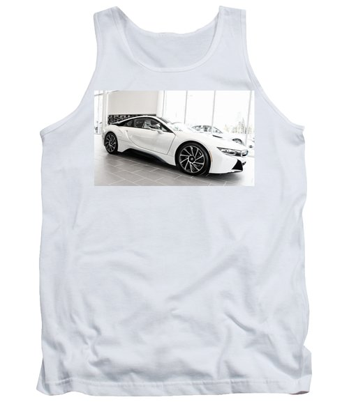 Tank Top featuring the photograph 2014 Bmw E Drive I8 by Aaron Berg