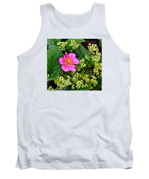 2015 Summer's Eve At The Garden Lipstick Strawberry Tank Top
