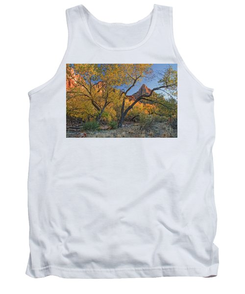 Zion National Park Tank Top by Utah Images