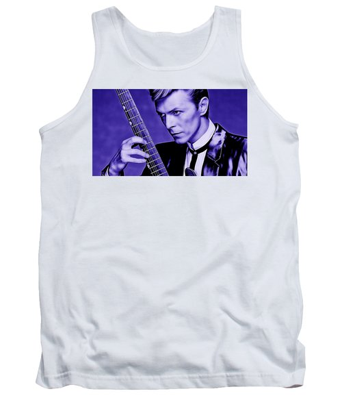 David Bowie Collection Tank Top by Marvin Blaine