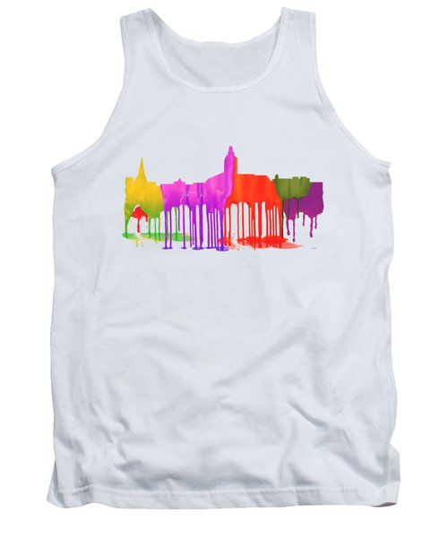 Annapolis Maryland Skyline      Tank Top