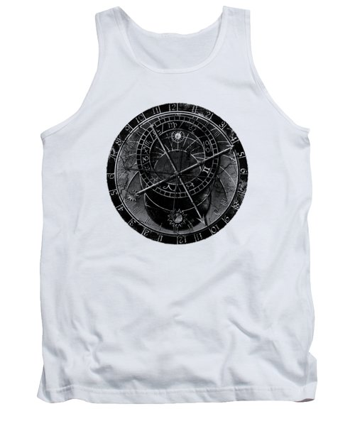 Astronomical Clock Tank Top by Michal Boubin