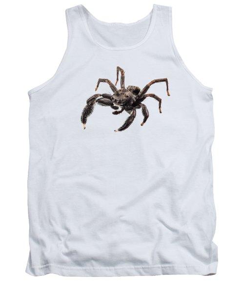 Black Spider Tank Top