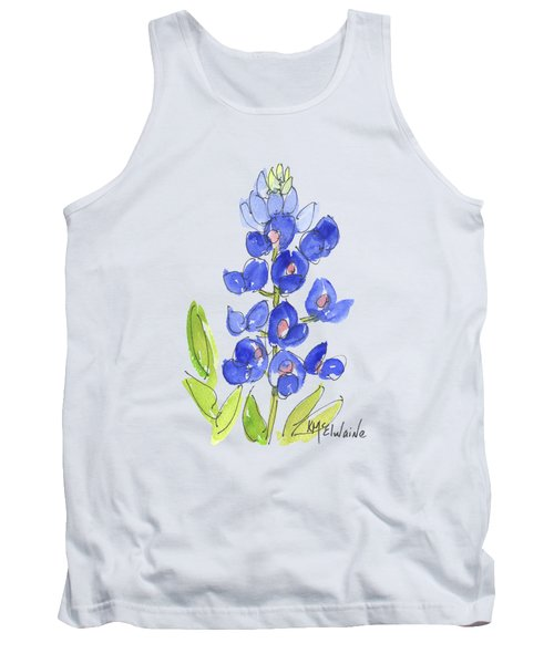 Bluebonnet Tank Top