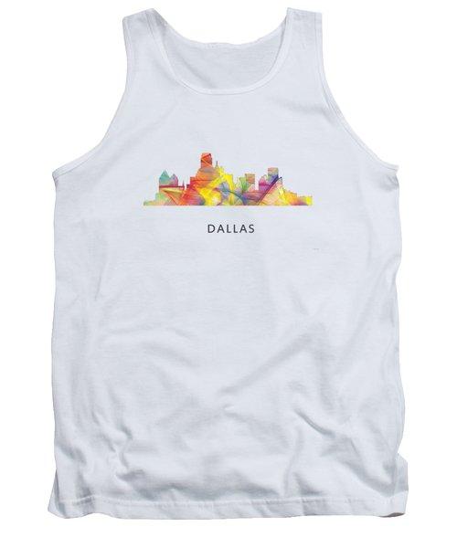 Dallas Texas Skyline Tank Top