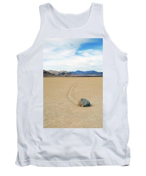 Death Valley Racetrack Tank Top