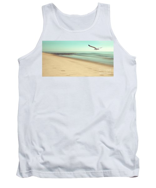 Tank Top featuring the photograph Desire Light Vintage by Hannes Cmarits