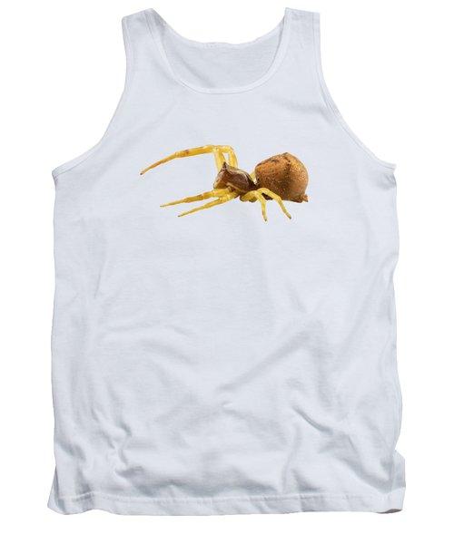 goldenrod crab spider species Misumena vatia Tank Top
