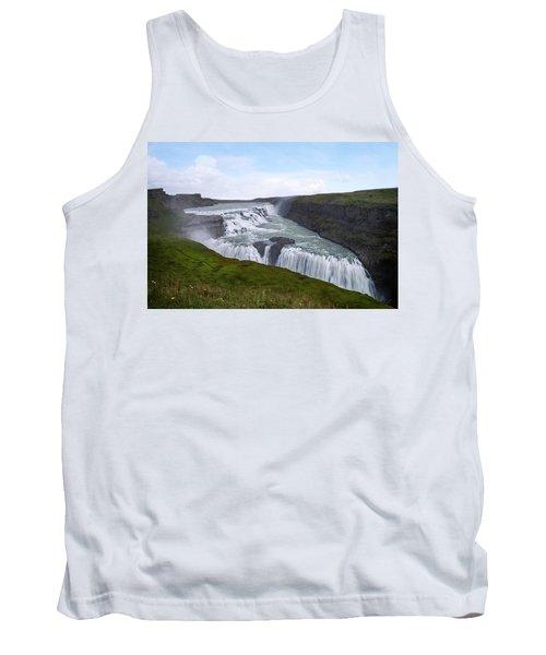 Gullfoss - Iceland Tank Top