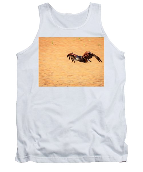 Tank Top featuring the photograph Harris Hawk by Alexey Stiop