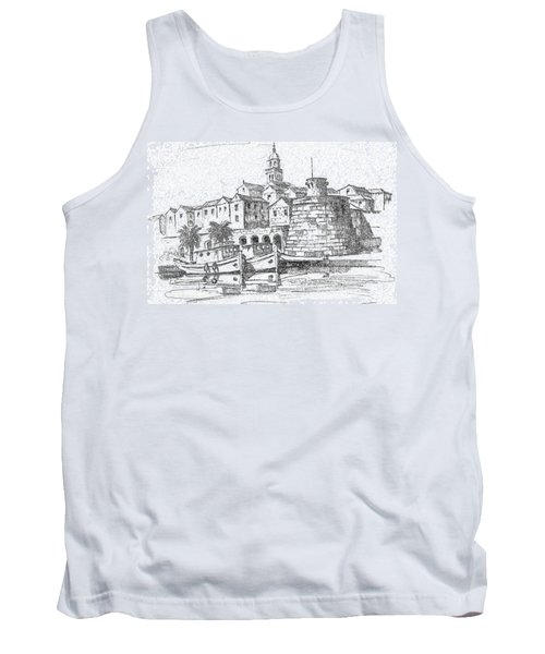 Korcula Croatia Tank Top
