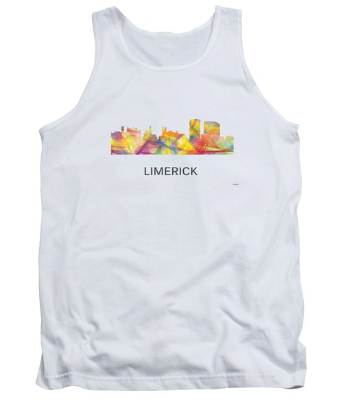 Limerick Ireland Skyline Tank Top