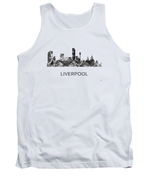 Liverpool England Skyline Tank Top