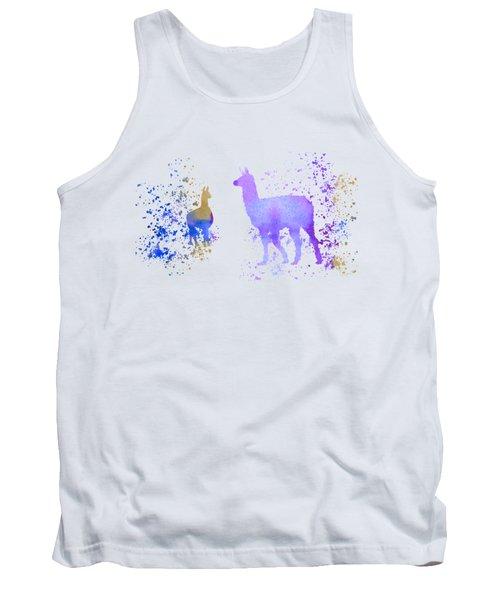 Llamas Tank Top