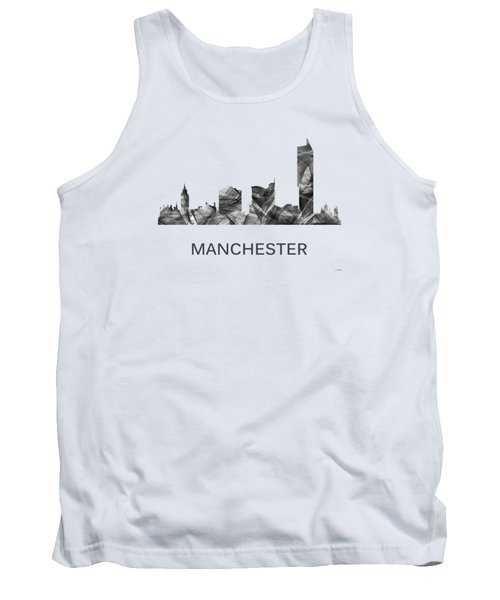 Manchester England Skyline Tank Top