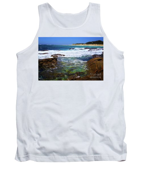 Mouth Of Margaret River Beach II Tank Top