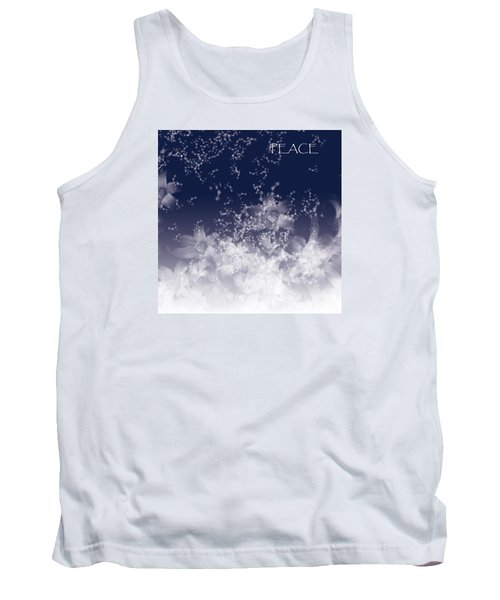 Tank Top featuring the digital art Peace by Trilby Cole