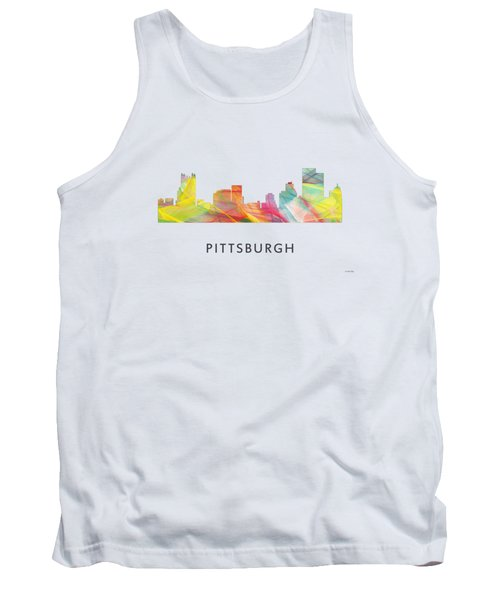 Pittsburgh Pennsylvania Skyline Tank Top