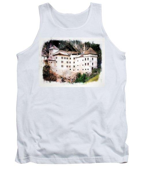 Tank Top featuring the photograph Predjama Castle, Predjama Slovenia by Joseph Hendrix