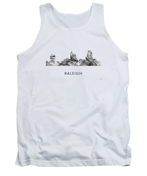 Raleigh North Carolina Skyline Tank Top